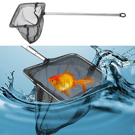 top-sell Nylon Acuario Peces Gambas malla redes de acuario Redes de peces tanque de