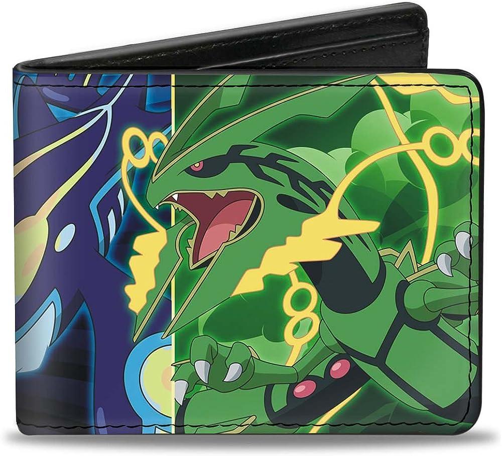 -Pokemon 4.0 x 3.5 Buckle-Down Buckle-Down Bifold Wallet Pokemon Accessory