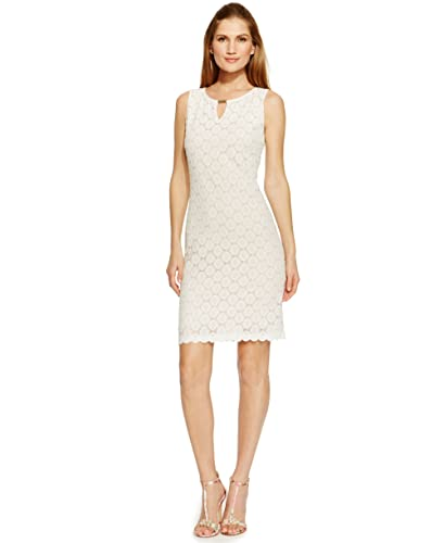 Ronni Nicole Womens Lace Keyhole Cocktail Dress