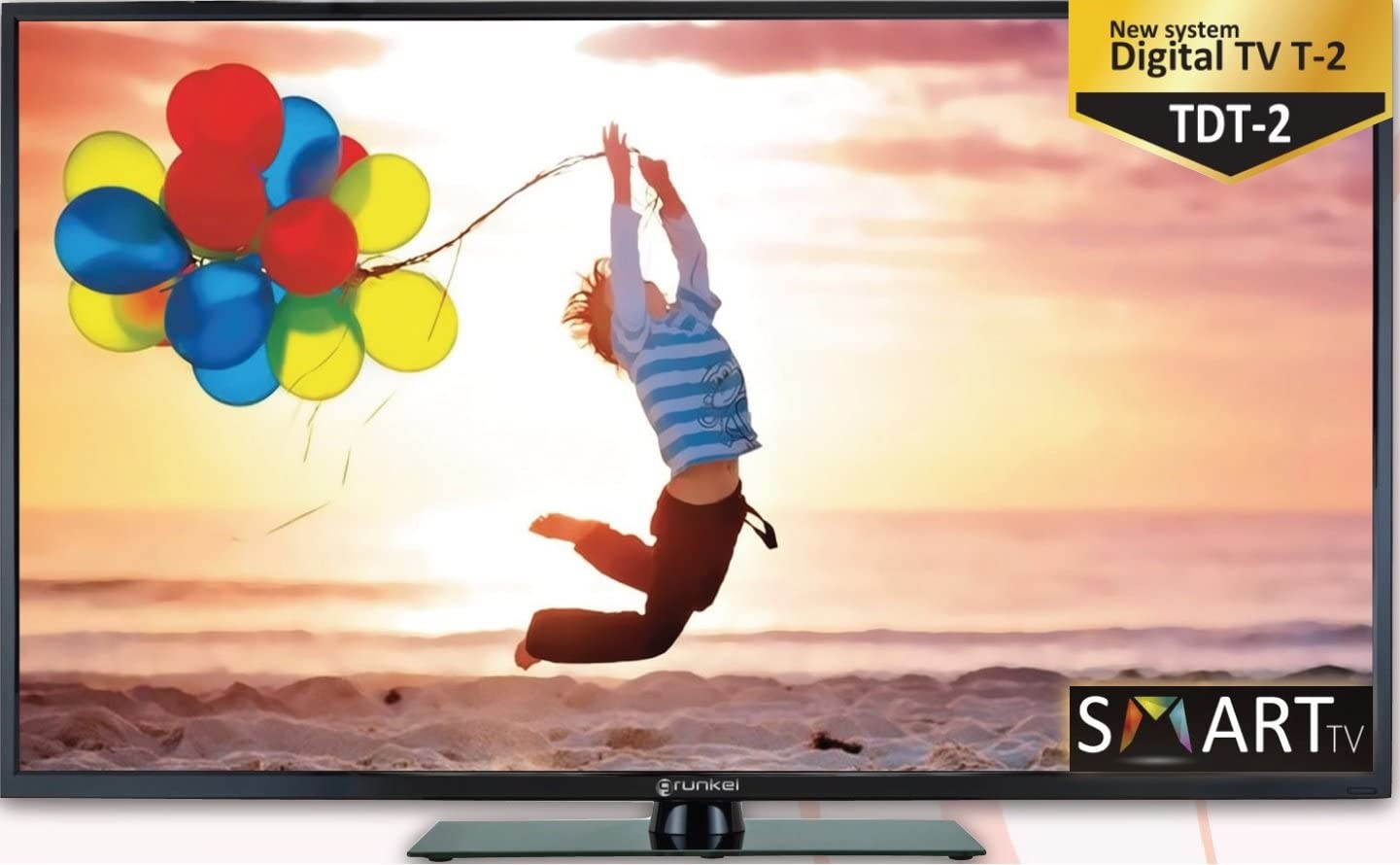 Grunkel tv led 55 wifi smart tv 55smtsmart: Amazon.es: Electrónica