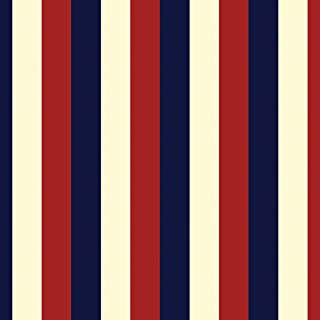 product image for WallCandy Arts Removable Wallpaper, Stripes Americana