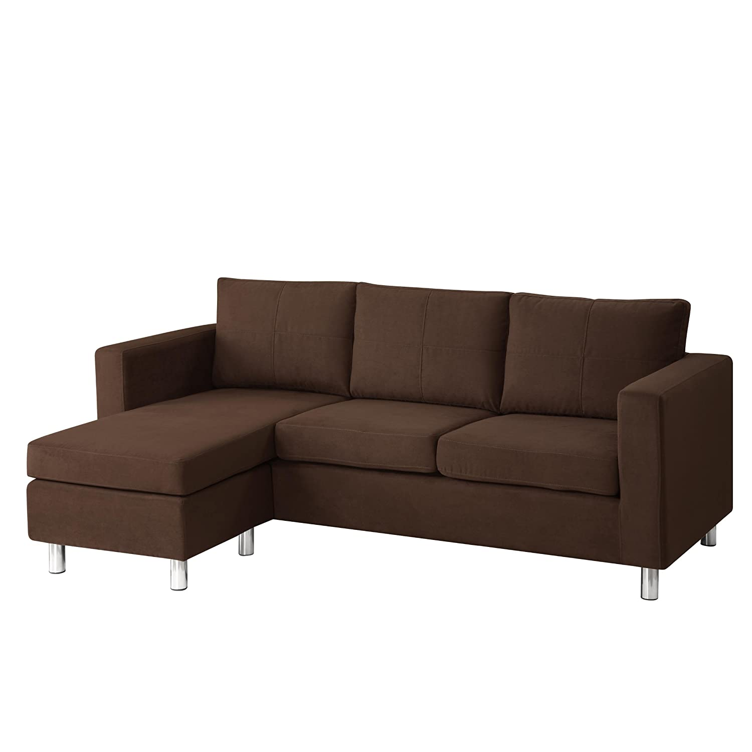Amazon Sectional Sofa for Small Spaces Chaise Sofa Design