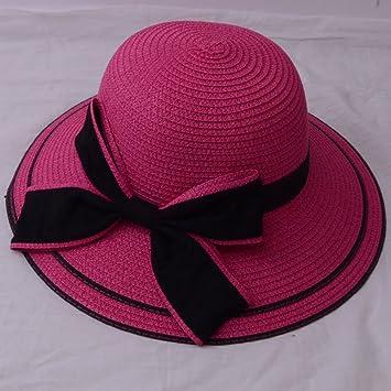 ff7415617f0a1 TREESTAR Sombrero Redondo de Verano para Mujer