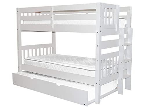 Bedz King Bunk Bed Twin over Twin
