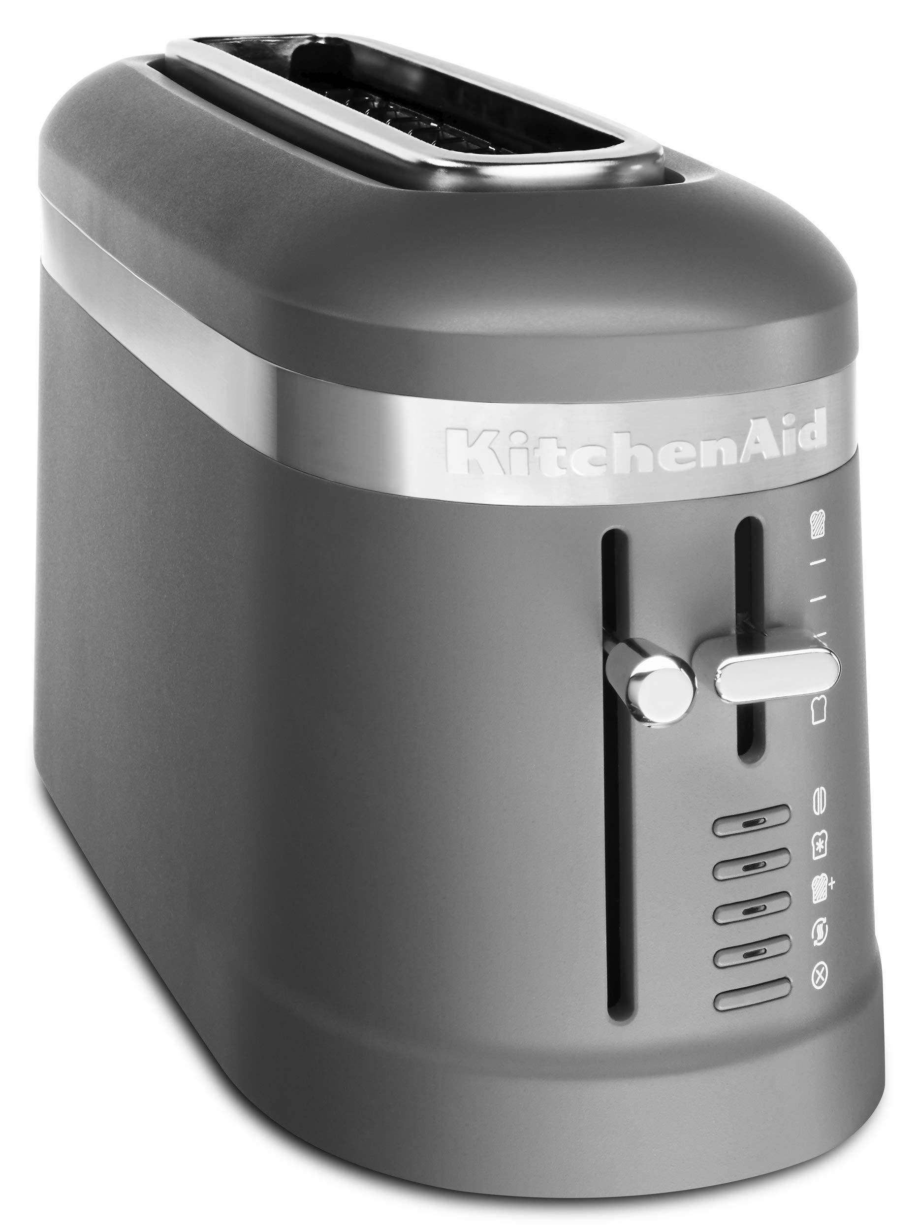 KitchenAid KMT3115DG Long Slot Toaster, 2 Slice, Matte Charcoal Grey