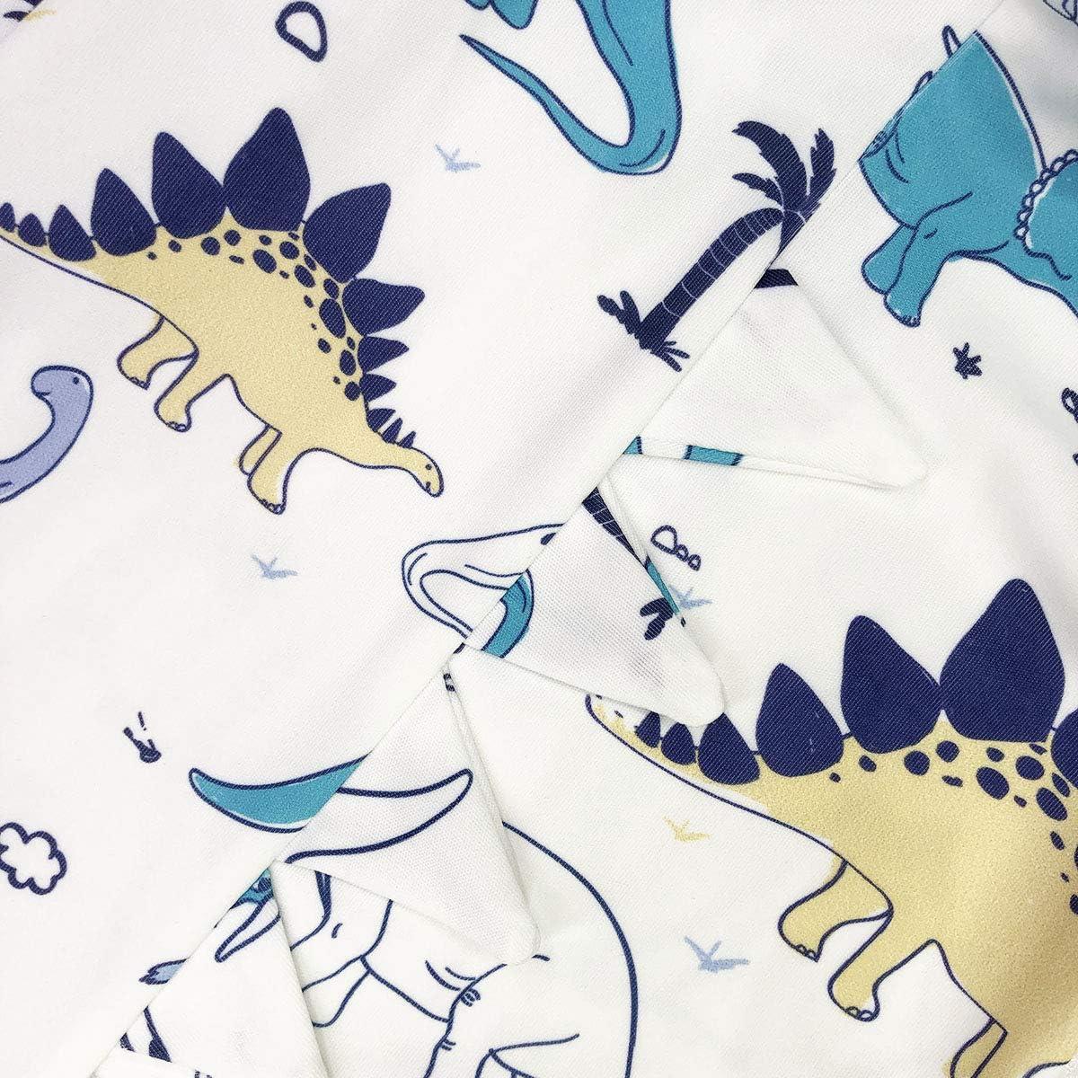 ModaIOO Baby Dinosaur Unicorn Hoodie Romper