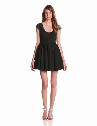 Blue Juice Women's Captivate Me Dress, Black, Medium
