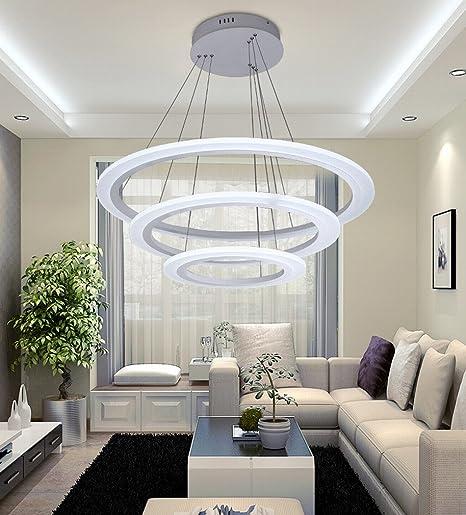 Jn Moderne Minimaliste Led Lustre Salle A Manger Lampe Salon