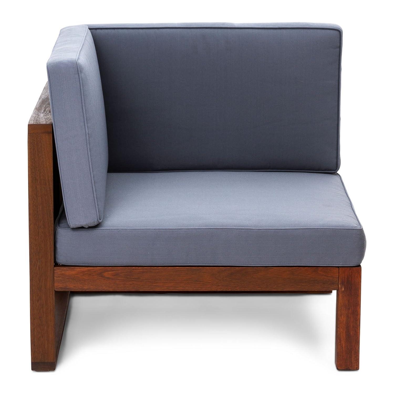 CHILLVERT Conjunto sofá 3 módulos de jardín Camberra de ...