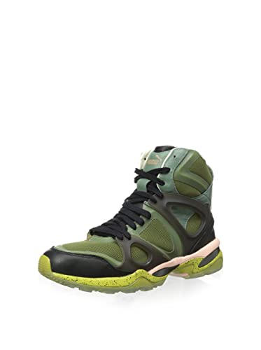 ecd211ec8102 PUMA Mens MCQ Run Mid Alexander McQueen Avocado Synthetic Athletic Sneakers  13