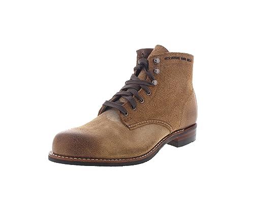 dff7f4d0744 WOLVERINE 1000 Mile - Premium-Boots MORLEY - natural: Amazon.co.uk ...