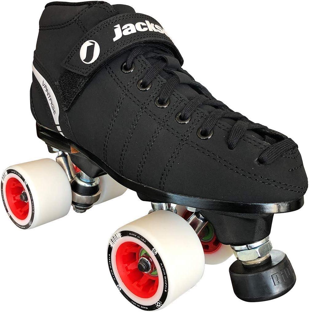 Jackson VIP Derby Quad Skate Package with Atom Boom Wheels
