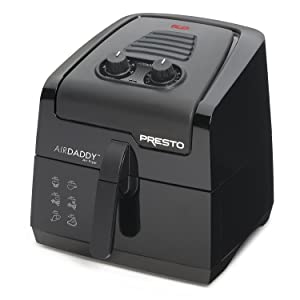 Presto 03421 Electric Air Fryer, Black