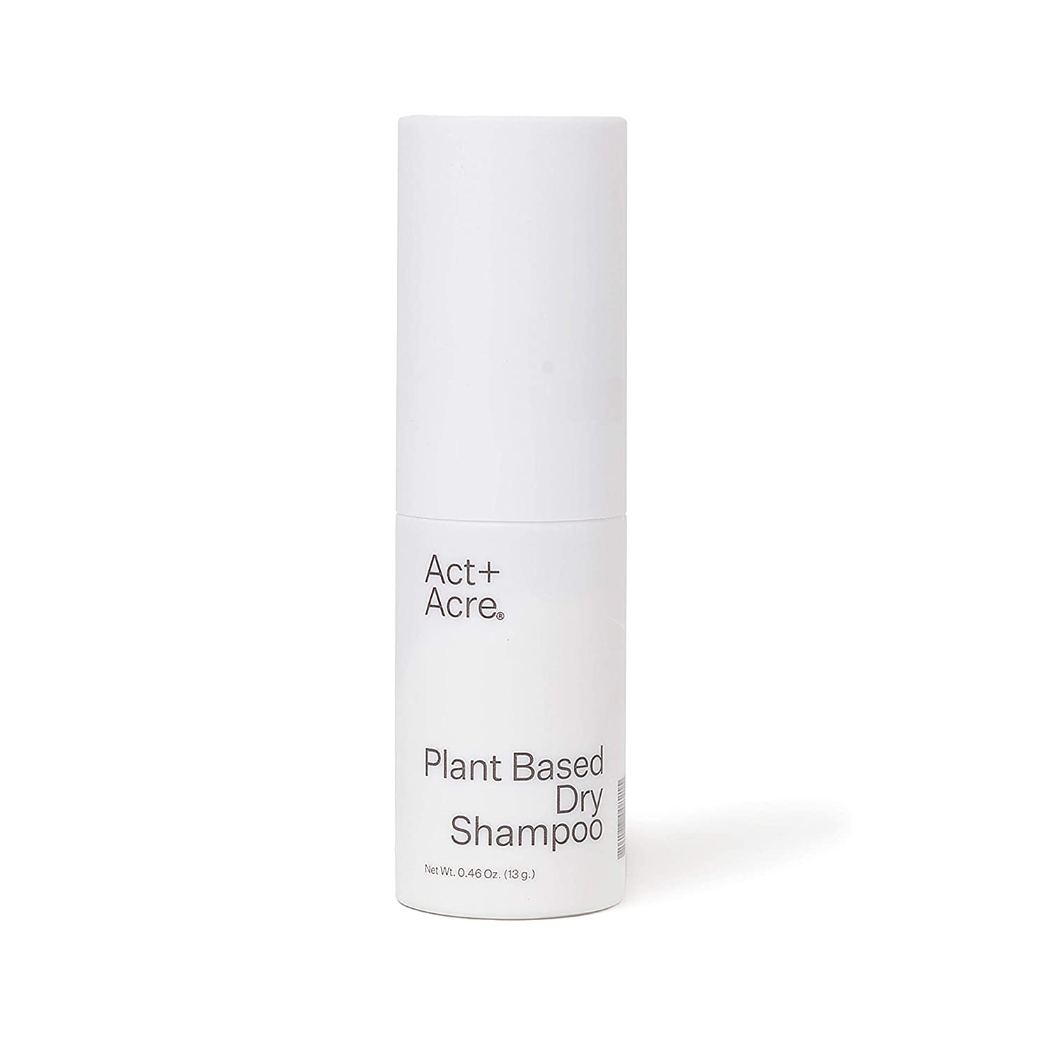 Amazon.com: Act+Acre Plant Based Dry Shampoo | Natural and Unscented Powder  Spray with Fulvic Acid and Rice to Refresh Oily Hair and Build Volume |  Talc Free and Colorless for Light and