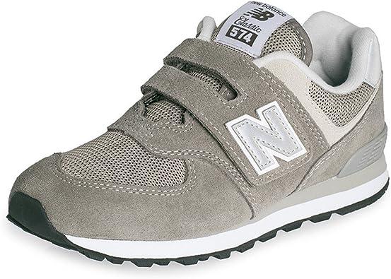 lavandería caos Así llamado  New Balance - Zapatillas de Textil para niño, Color Gris, Talla 32 EU:  Amazon.es: Zapatos y complementos