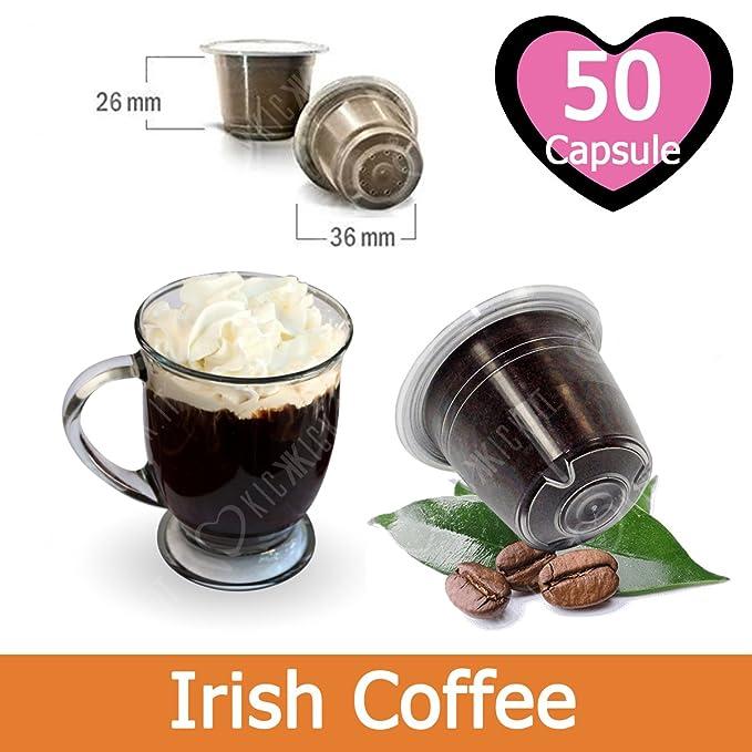 50 Capsulas Irish Coffee Compatibles Nespresso - Café Kickkick