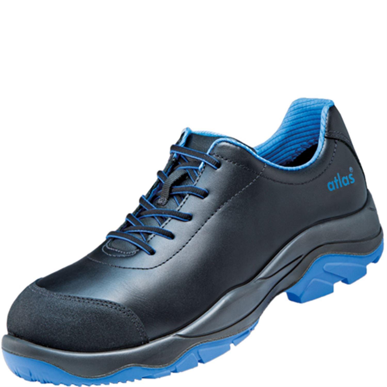 Scarpe Antinfortunistica ESD di SL 645 XP Blue in weite 10 secondo la norma EN ISO 20345 S3 SRC di Atlas Nero