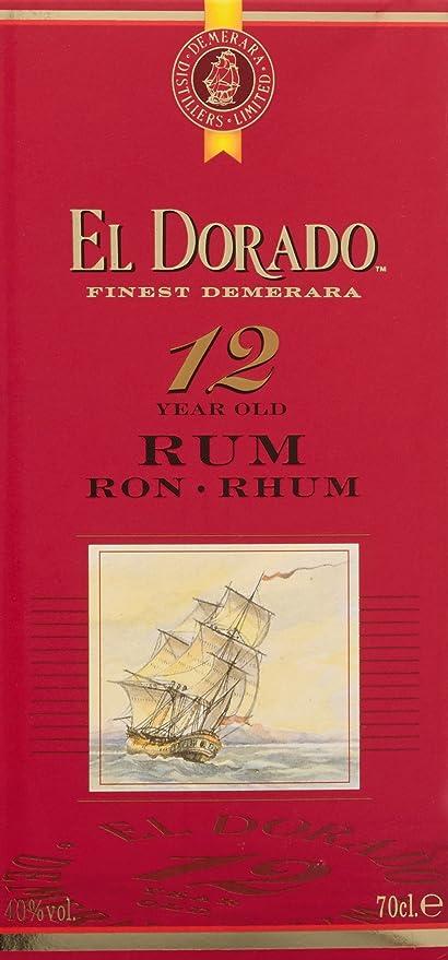 El Dorado 12YO Gold Rum 70cl