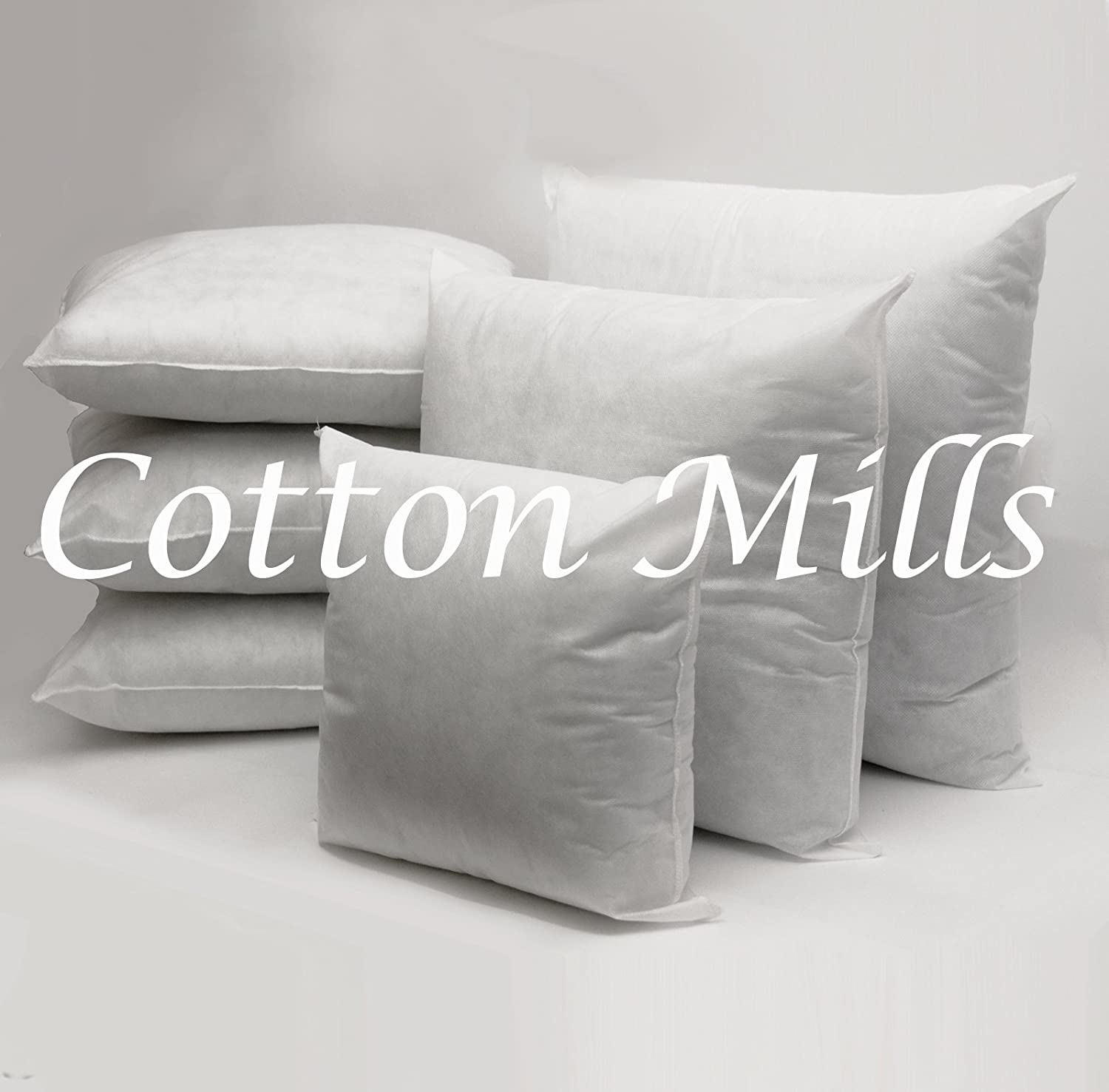 Cotton Mills Hollowfibre Filled Cushion Pad Insert/Filler (Oblong 12