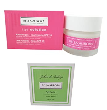 Bella Aurora Age Solution Anti-wrinkle Cream 50ml + Sérénité Beauty Soap 100gr