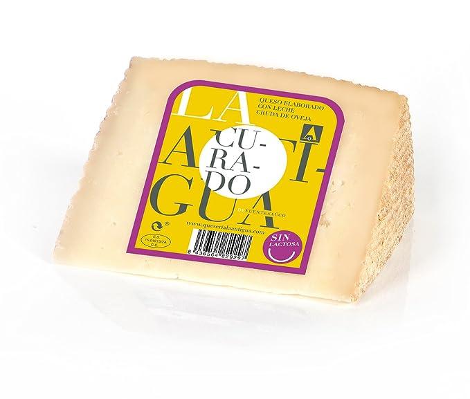 QUESERIA LA ANTIGUA DE FUENTESAUCO - Queso curado de leche cruda de oveja SIN LACTOSA (