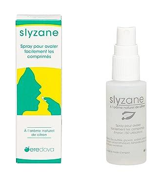 Slyzane limón-Spray para avaler & los comprimidos, cápsulas: Amazon ...