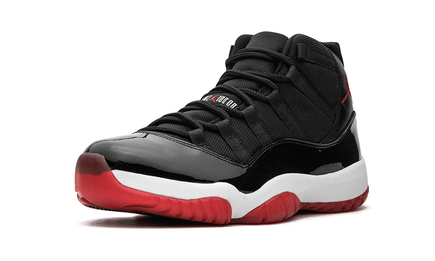 newest e5743 14251 AIR JORDAN 11 Retro BRED  2012 Release  -378037-010 - Size 14-UK   Amazon.co.uk  Shoes   Bags