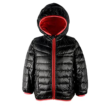 9e5cc3a42c1a Amazon.com  Zando Hooded Light Weight Down Puffer Jacket Packable ...