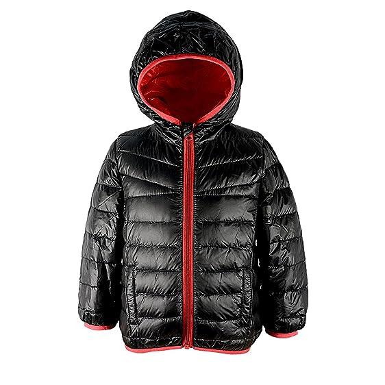 Amazon.com: Zando Girls Kid Children Duck Down Feather Jacket ...