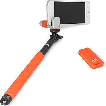 XSories Me-Shot Standard Handheld Telescopic Pole and Adaptor for iOS Or android Devices and 1//4-Inch Universal Digital Cameras