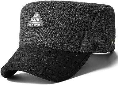 Gorros para hombres caliente/Sombrero de lana de invierno/Gorras ...