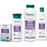Himalaya BabyCare Combo (Powder 400g, Soap 125g, Oil 200ml, Shampoo 200ml)