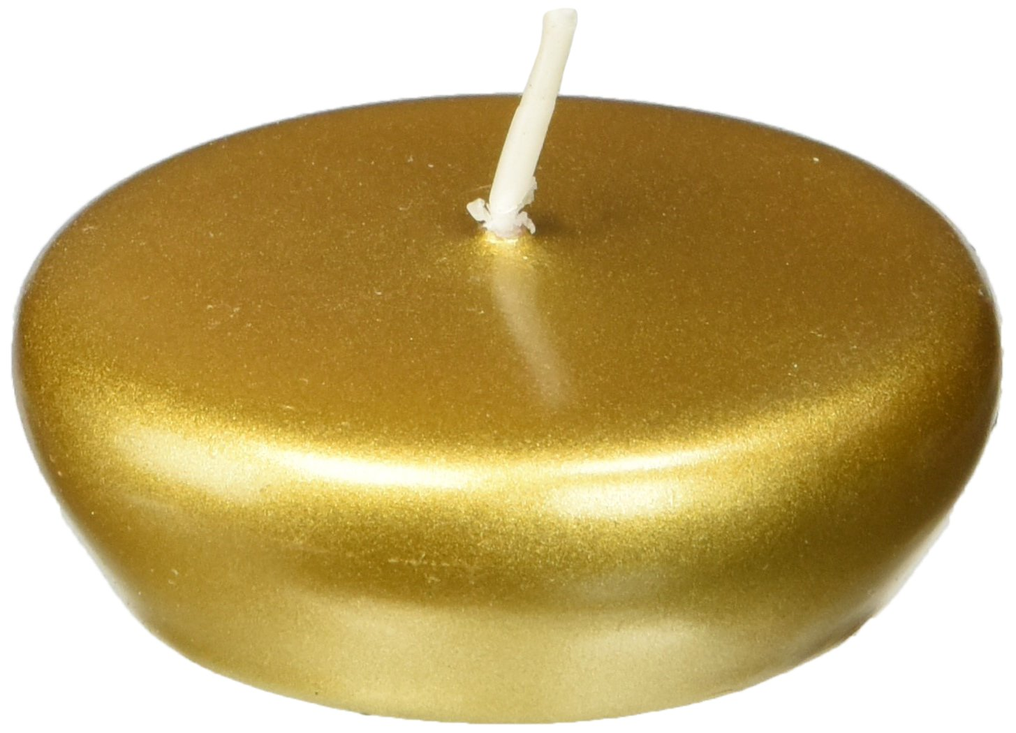 Zest Candle 24-Piece Folding Candles, 2.25-Inch, Metallic Bronze Gold by Zest Candle