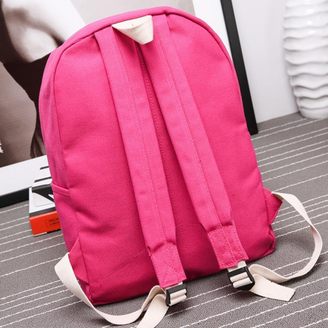mochilas escolares juveniles niña Switchali Lona bolsas escolares moda Pijo Mochila  escolares niño mochilas mujer casual ... 3202b0055fcef