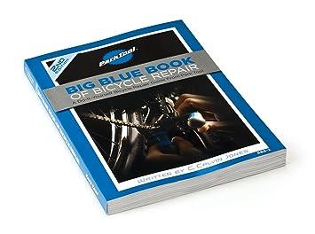 Park Tool bicicleta libro de la reparación 2 ª edición azul
