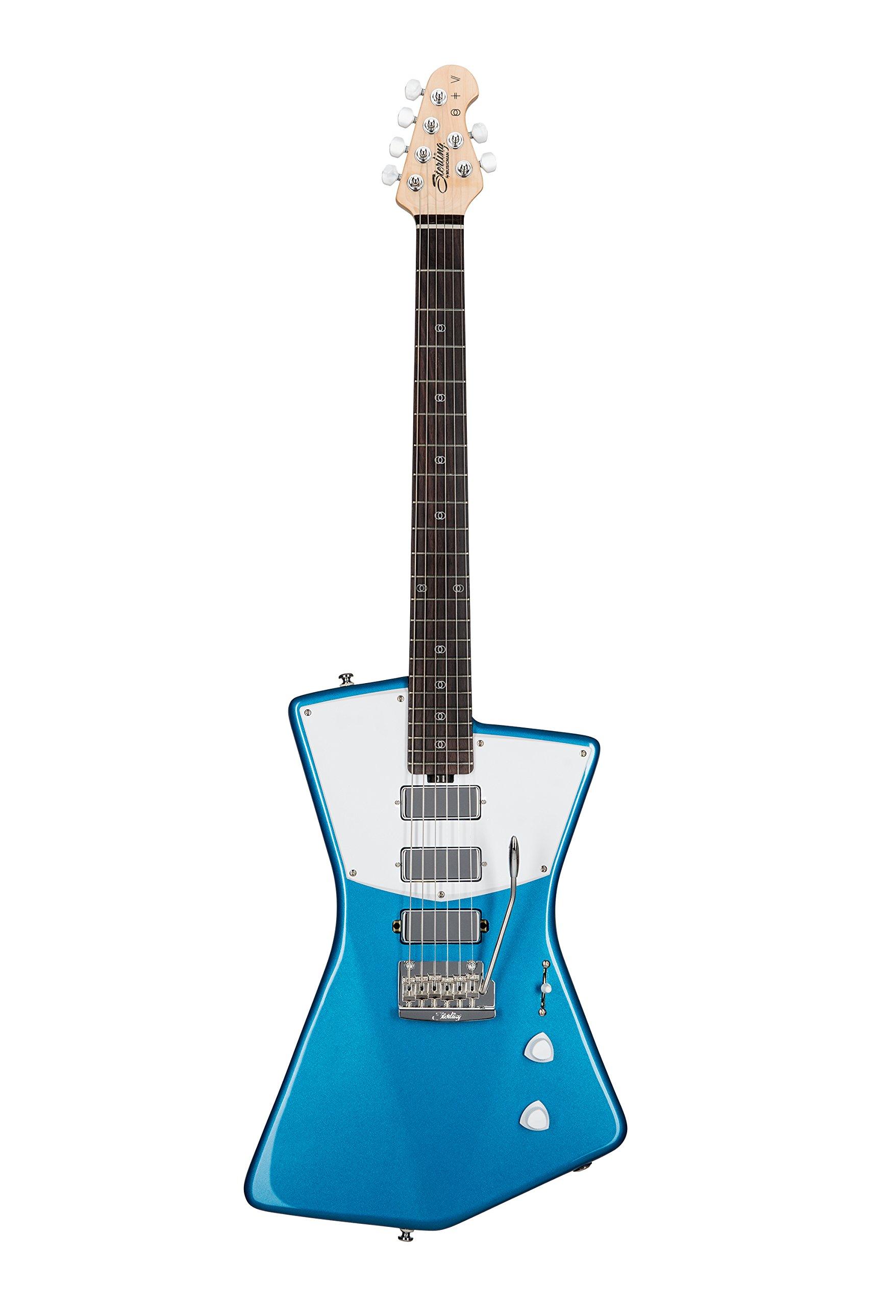 Sterling by Music Man St. Vincent Signature Guitar, STV60, Vincent Blue