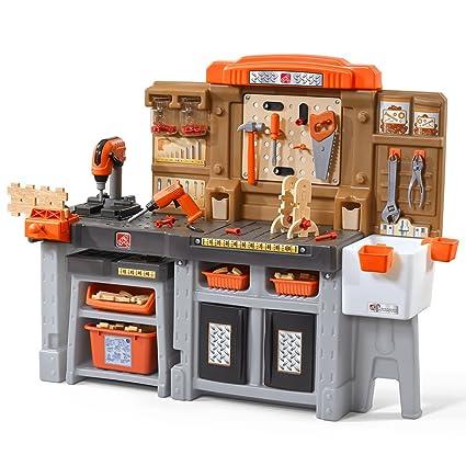 a7980bd64 Amazon.com: Step2 489099 Kids Workbench, Blue: Toys & Games