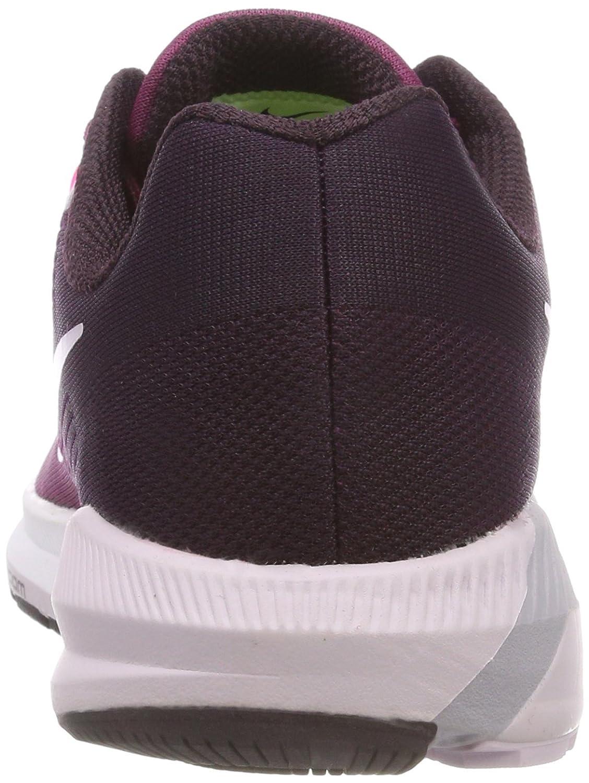 NIKE Women's Air Zoom Structure 21 Running Shoe B075XHF9PQ 12 B(M) US|Pure Platimum/Anthracite