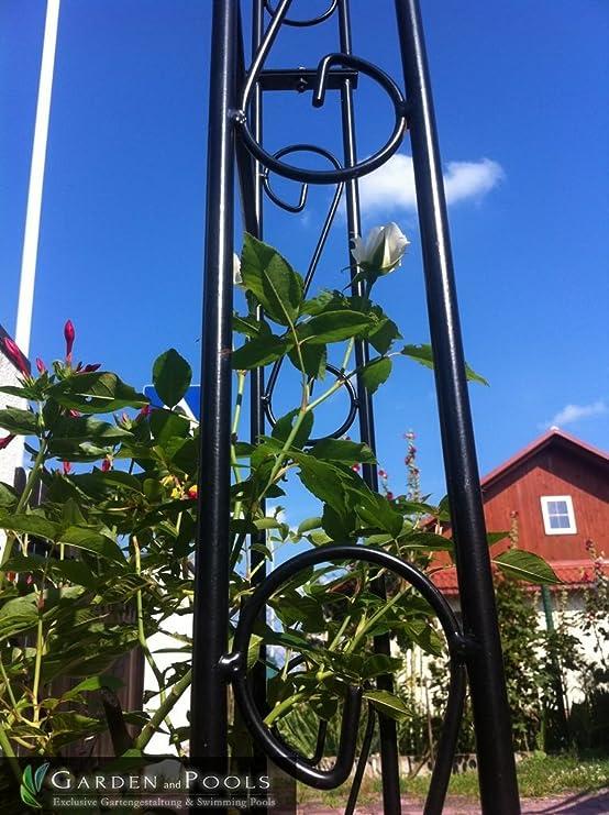 Arco, mitad Pergola, metal rosas rosas pared, Pergola B 1, 20 ...