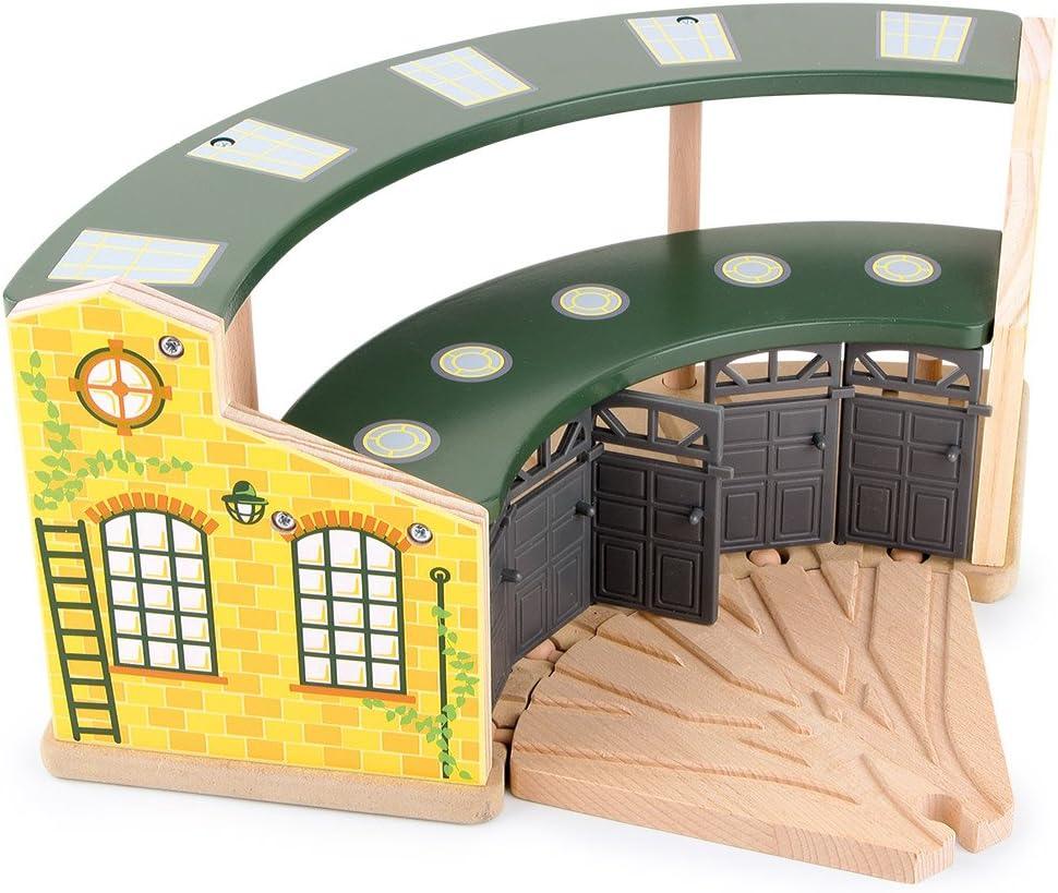 Round House Entrep/ôt pour Locomotives B/âtiment Small Foot Company smb5v - 8558 Mod/élisme Ferroviaire