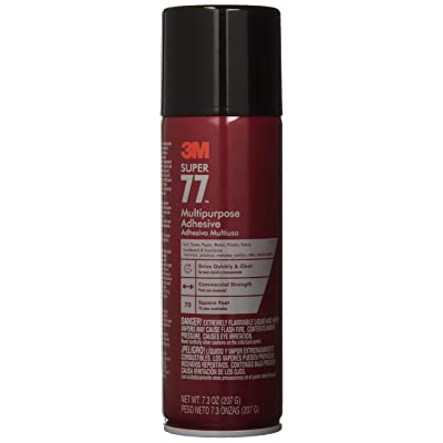 3M Super 77-10 Multi-Purpose Adhesive, 7.33 fl oz, Aerosol: Home Improvement