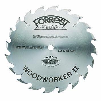Forrest Ww10206100 Woodworker Ii 10 20t Rip Blade Thin Kerf Table
