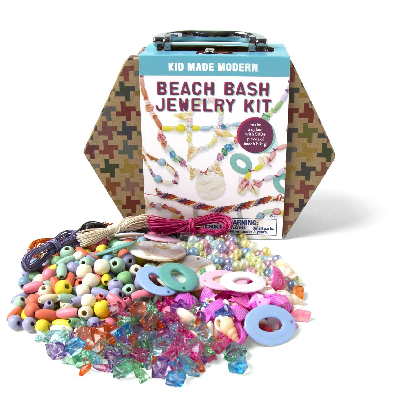 Kid Made Modern Beach Bash Kids Jewelry Making Kit - Arts & Crafts Toys
