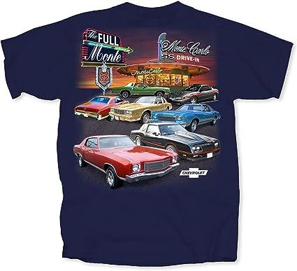 Monte Carlo SS 100/% Cotton Preshrunk Chevy Monte Carlo T-shirts