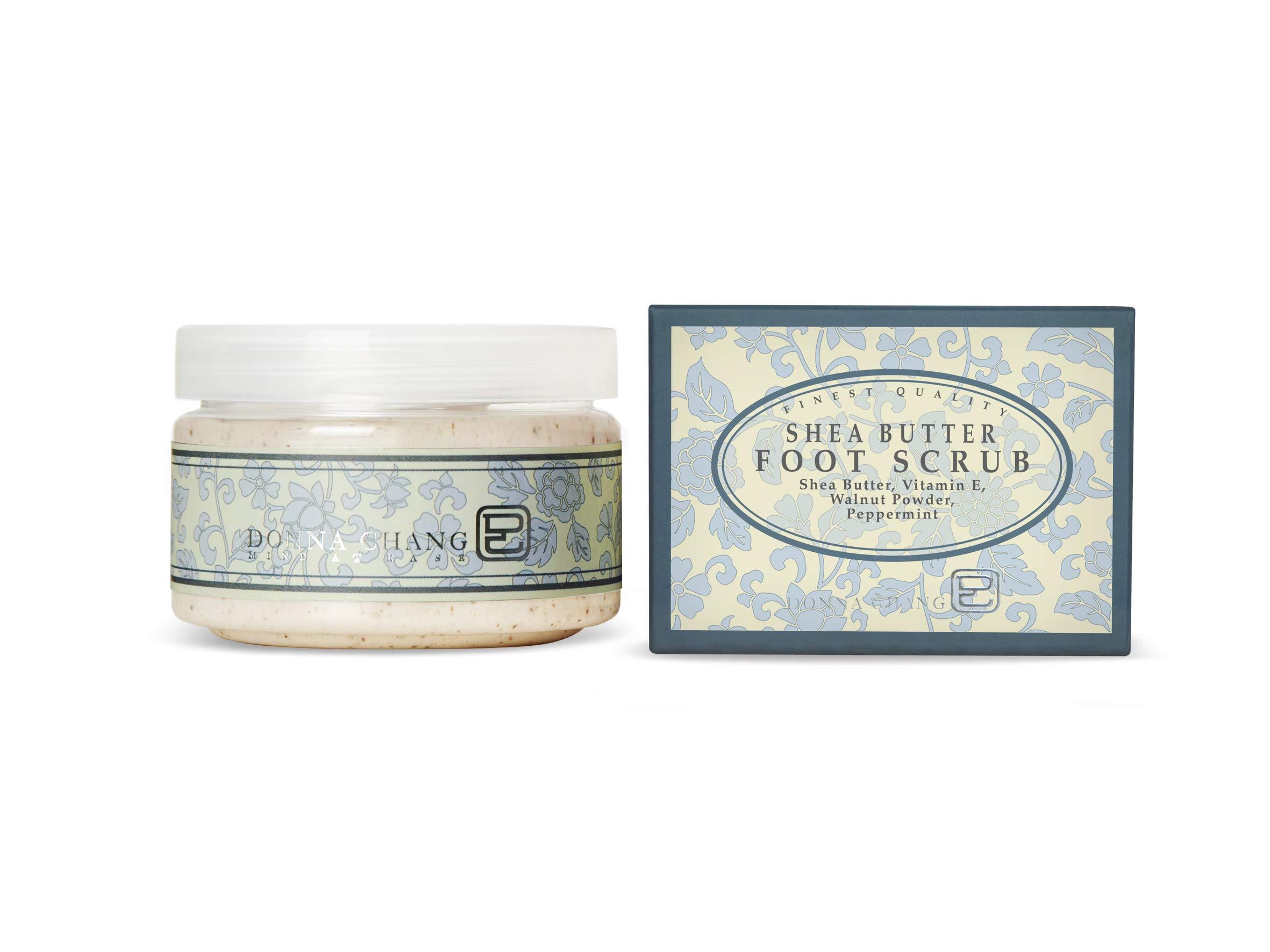 DONNA CHANG Shea Butter Foot Scrub 120 ml. (4 Pack)