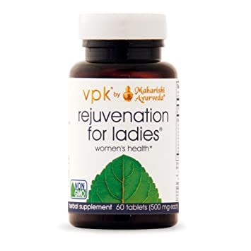 Rejuvenation for Ladies | 60 Herbal Tablets - 500 mg ea | Natural Herbal Supplement for