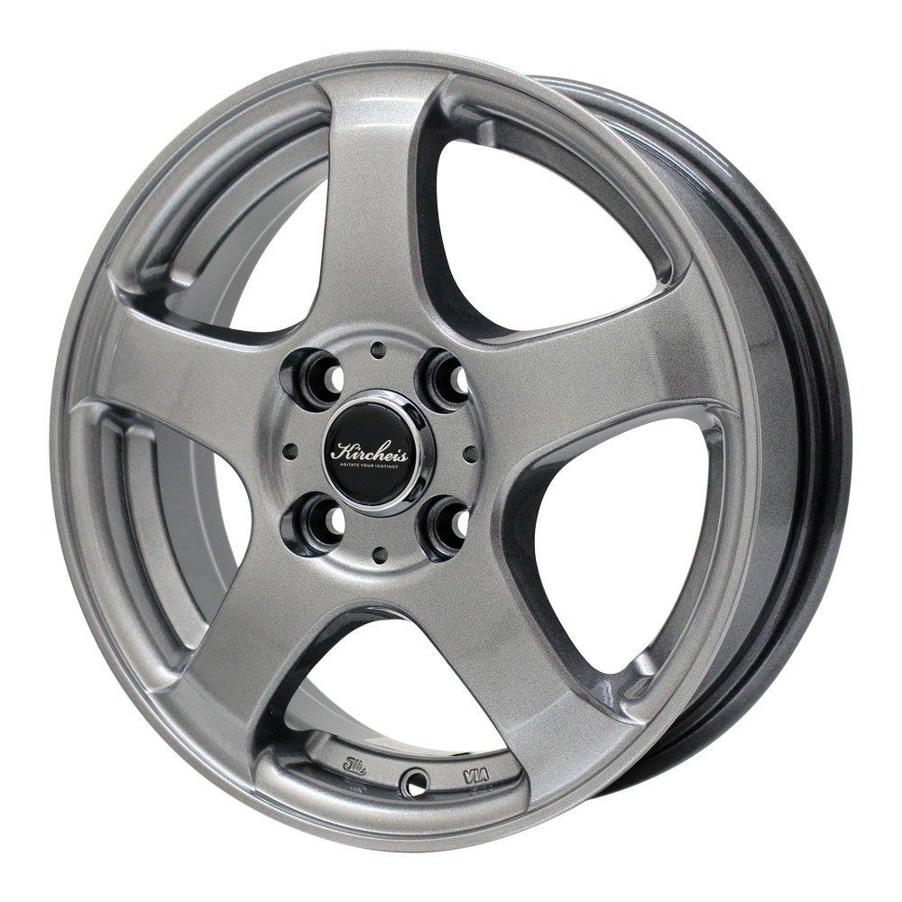GOODYEAR(グッドイヤー) サマータイヤ&ホイール GT-Eco Stage 175/70R14 KIRCHEIS(キルヒアイス) 14インチ 4本セット B072LCFB98