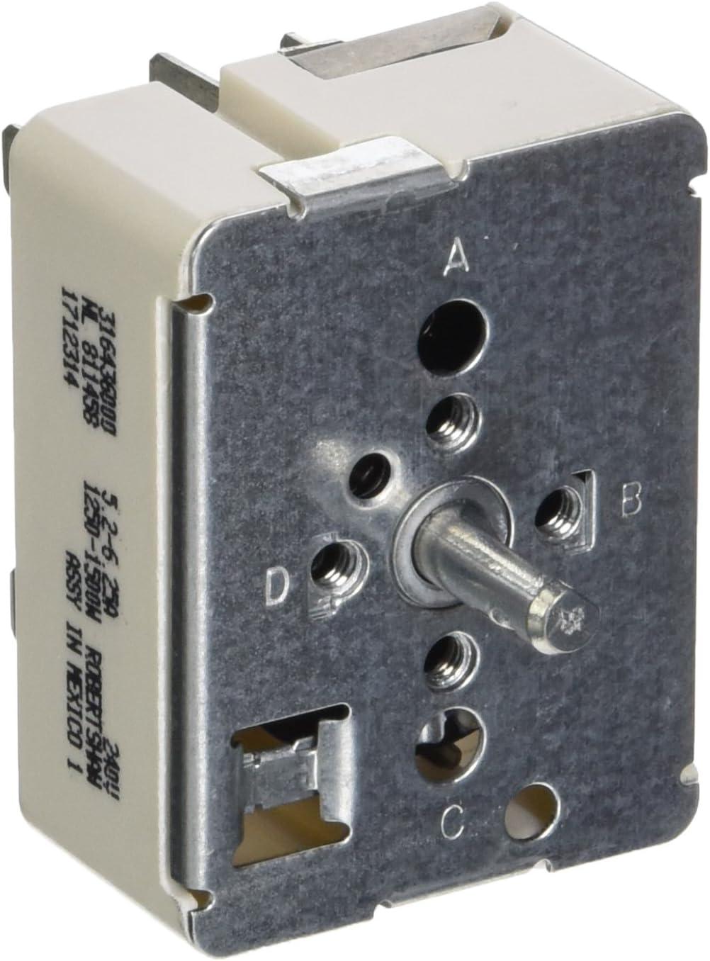 Electrolux 316436000 Switch