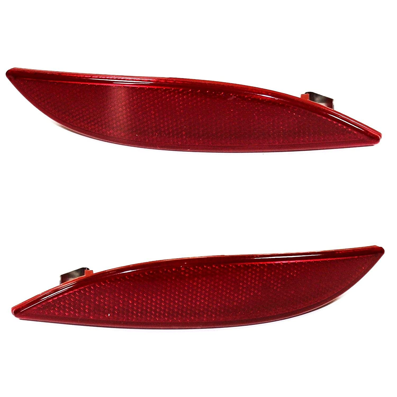 Lentille de lumi/ère R/éflecteur pare-chocs arri/ère gauche et /à droite Paire