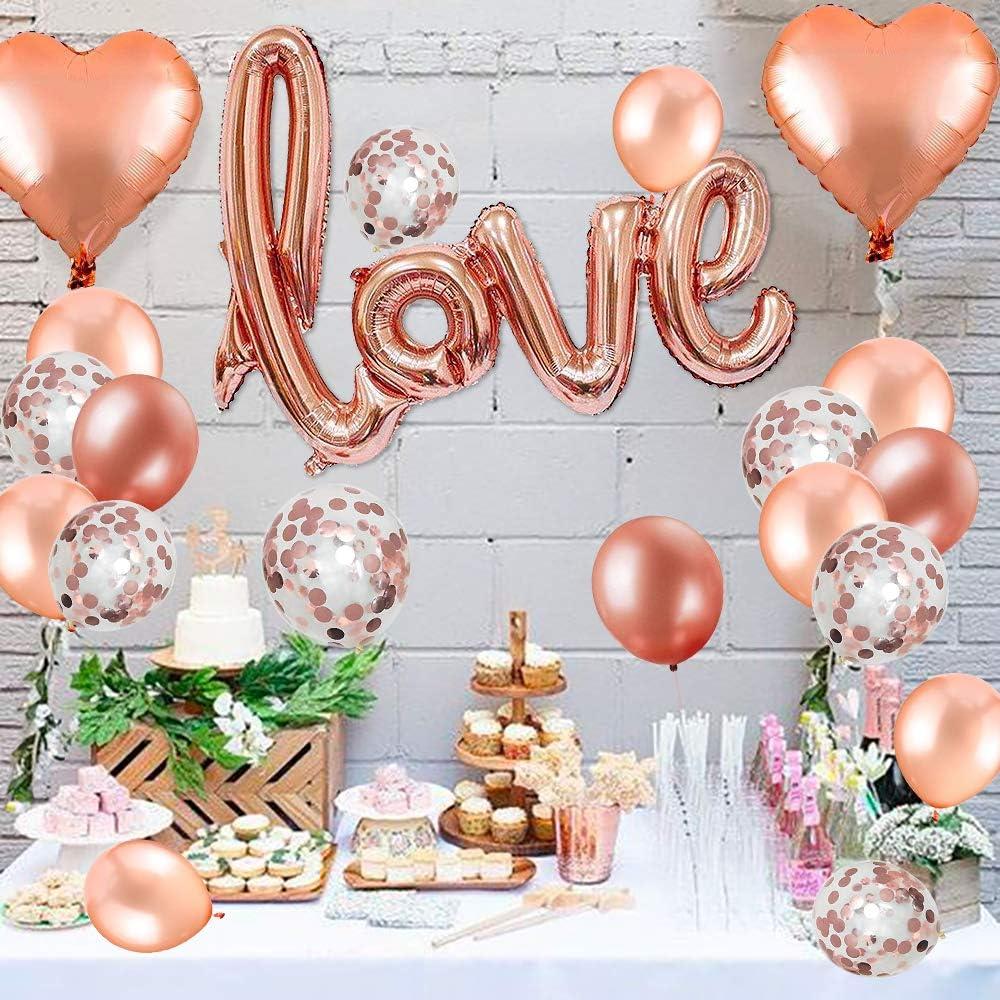 Hochzeit Folienballons